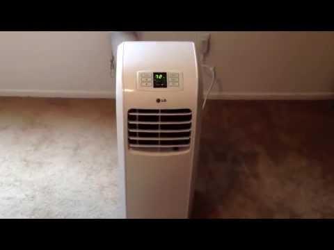 LG 8000 btu portable air conditioner.