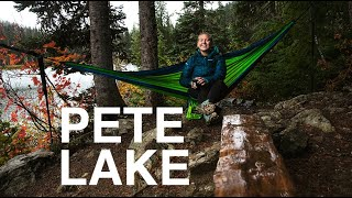 Pete Lake | Easy, begİnner friendly backpacking trip with dogs in Washington, Pacific Northwest