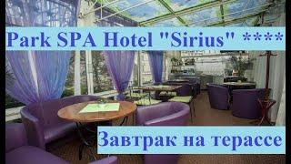 Отель Sirius 4 завтрак на террасе Обзор Отзыв