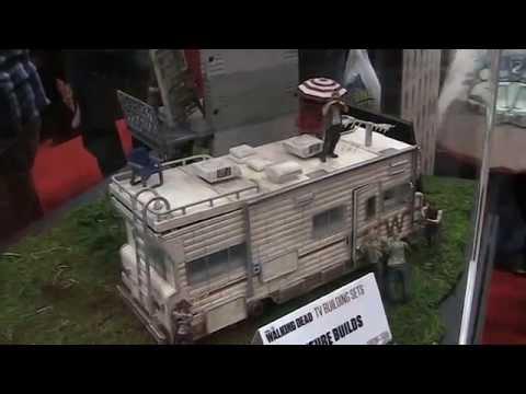 The Walking Dead Building Set Quot Dale S Rv Quot Youtube