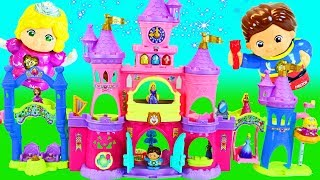 PRINCESS CASLTE DOLLHOUSE Preschool Learning Toy For Toddlers Surprise Eggs & Kid Toys DisneyCarToys