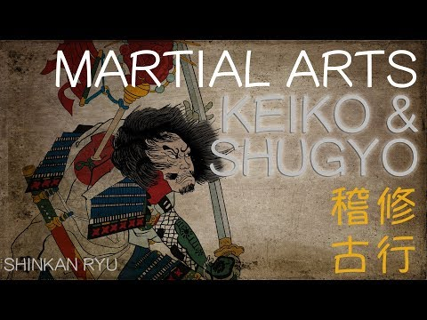 Martial Arts Keiko & Shugyo What is Practice? |
