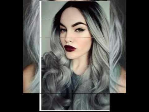 50 Shades Of Grey Hair Styles!! YouTube