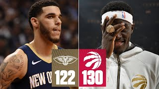 Raptors-Pelicans highlights: Pascal Siakam racks up 34 points | 2019-20 NBA Highlights
