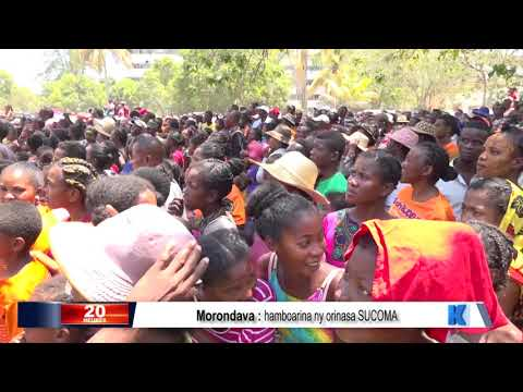 INFO K MADA PRM Morondava DU 11 NOVEMBRE 2019 BY KOLO TV