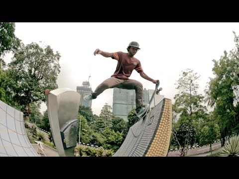 Street skating in Kuala Lumpur - Away from the Equator - Ep 2