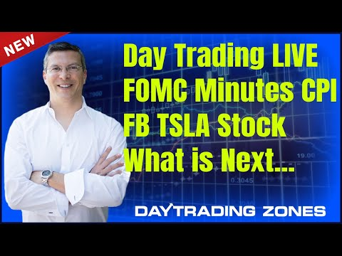 Day Trading FOMC Minutes CPI FRIDAY ..FB TSLA Stock What is Next