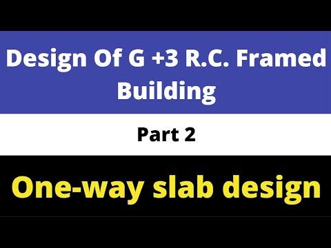 Design of G+3 R C  framed builidng (Part 2)