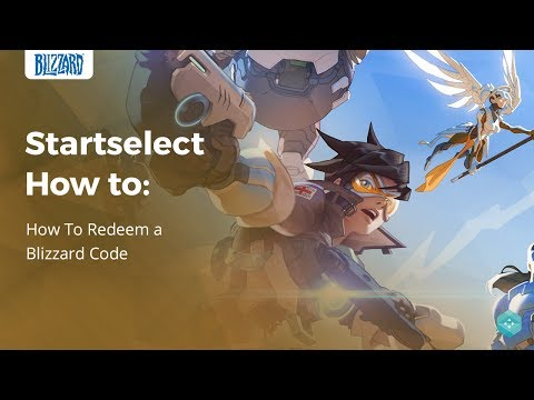 Startselect How To | Redeem A Blizzard Gift Card