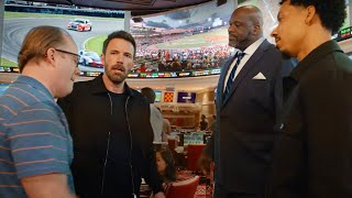 Ben Affleck, Shaq and Melvin Gregg Team Up to Bet on Sports With WynnBET | Extended Cut