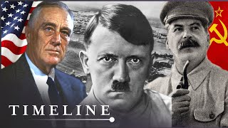 Why Did The Axis Powers Declare War On Russia And The USA? | Titans Of The 20th Century | Timeline