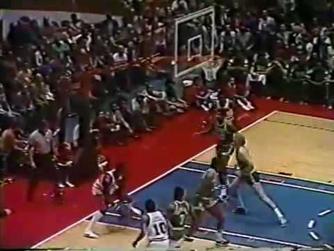 Celtics at Sixers 1981 ECF Game 6 (greatest playoff series of all time)