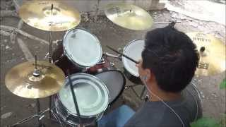 Scars en Español Papa Roach drum cover