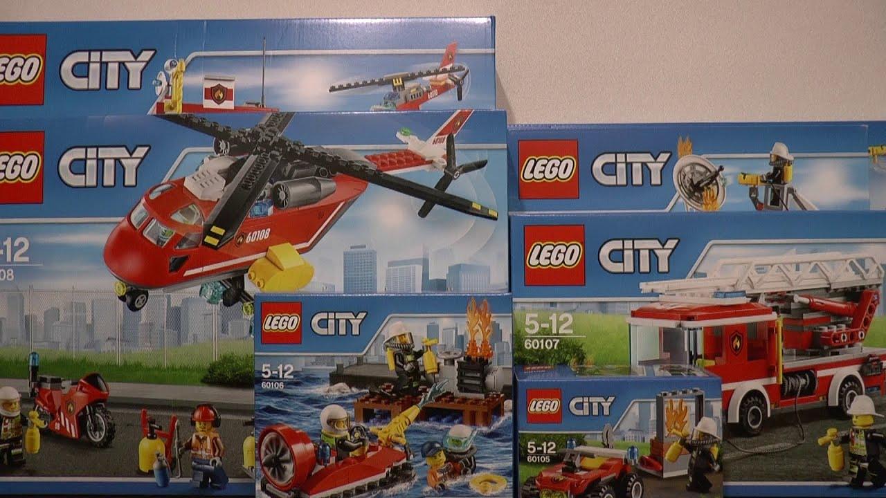 Nowości Styczeń 2016 Lego City Straż Pożarna Zwiastun Youtube