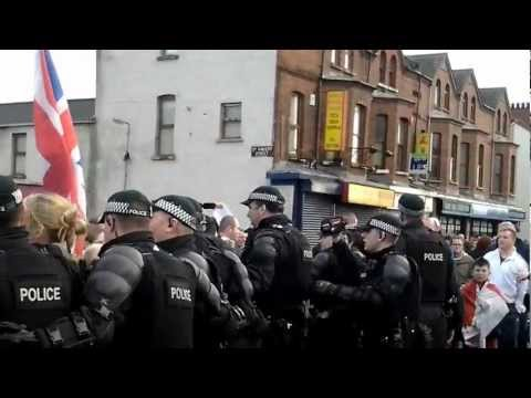 PSNI try to suppress the truth about today's policing operation and  try deny legal filming of it