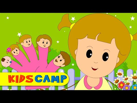 The Finger Family Song | Popular Nursery Rhymes Compilation from Kidscamp