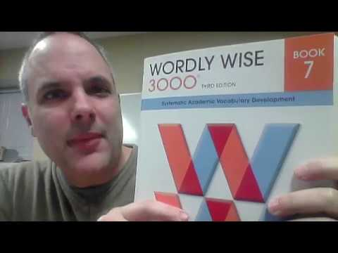 Wordly Wise 7 Lesson 12 English Academic Vocabulary