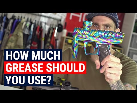How Much Grease Should You Use On Your Paintball Gun?