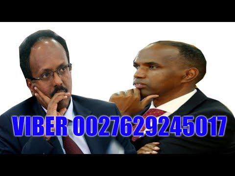 Farmaajo Iyo Kheyre Oo Ka Walwalsan Shirkii Ka Dhacay Nairobi  24/04/2019