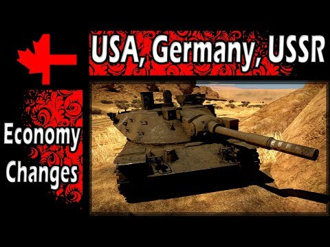 War Thunder - Planned Economy Changes April 2018 - USA, Germany, USSR