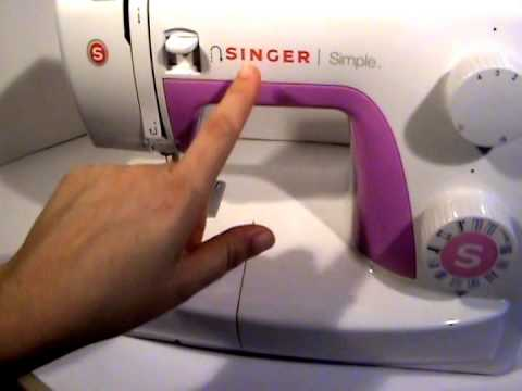 How To Thread And Load A Bobbin In A Front Loading Sewing Machine New Loading A Sewing Machine