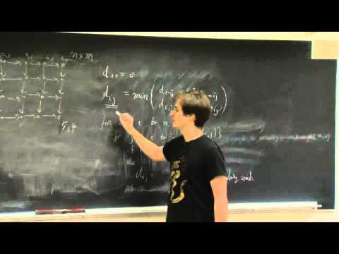 R19. Dynamic Programming: Crazy Eights, Shortest Path