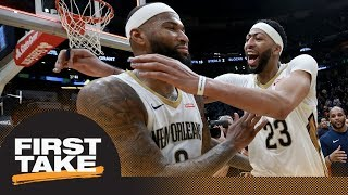 Stephen A. and Max react to DeMarcus Cousins' historic triple-double | First Take | ESPN
