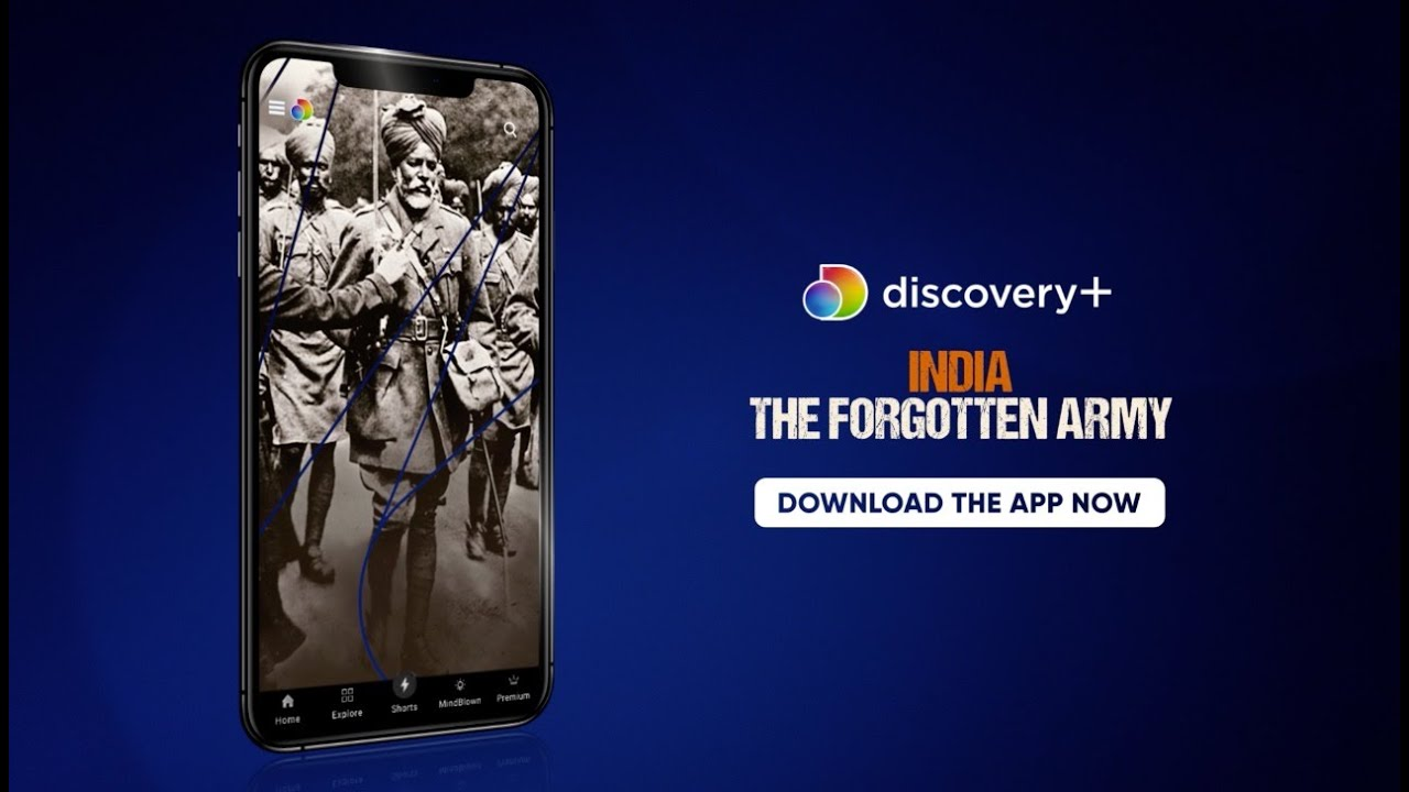 Watch Indian soldier's unsung sacrifices in WW1 in 'India: The Forgotten Army'| Discovery Plus app