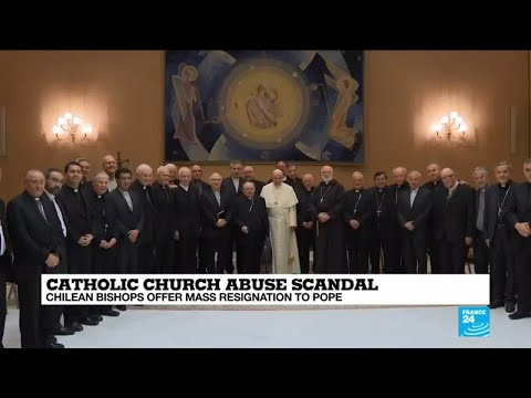 Catholic Church abuse scandal: Chilean bishops offer mass resignation to Pope Francis