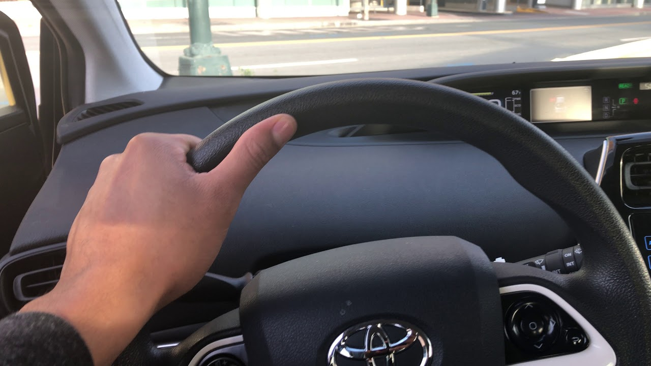 Toyota Prius How To Open Gas Cap