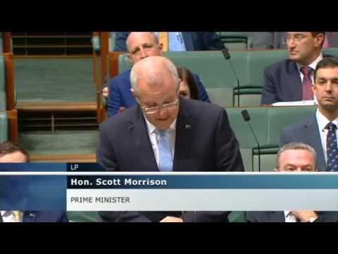 Scott Morrison Marking 70 Years Of Australia-Israel Relations