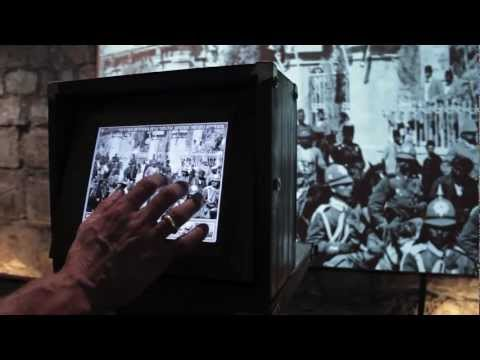 Picture Navigation - Installation at the Tower of David museum
