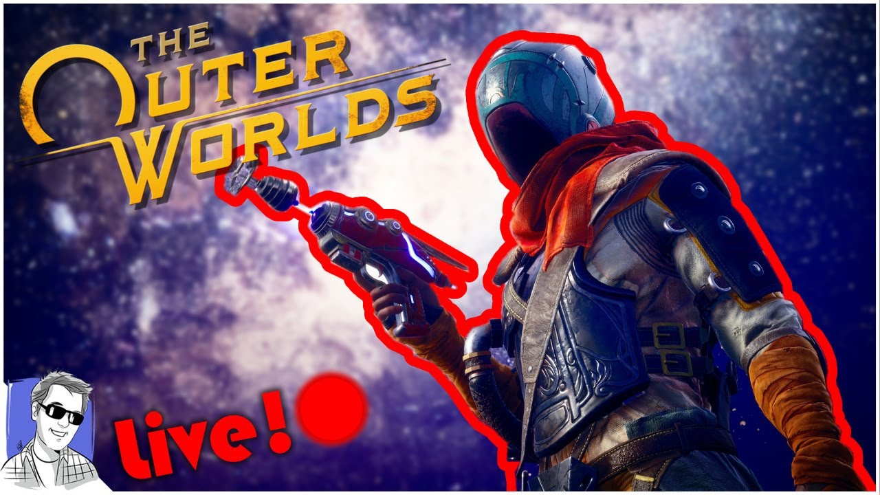 🔴 The Outer Worlds Live! On Steam! A New Start