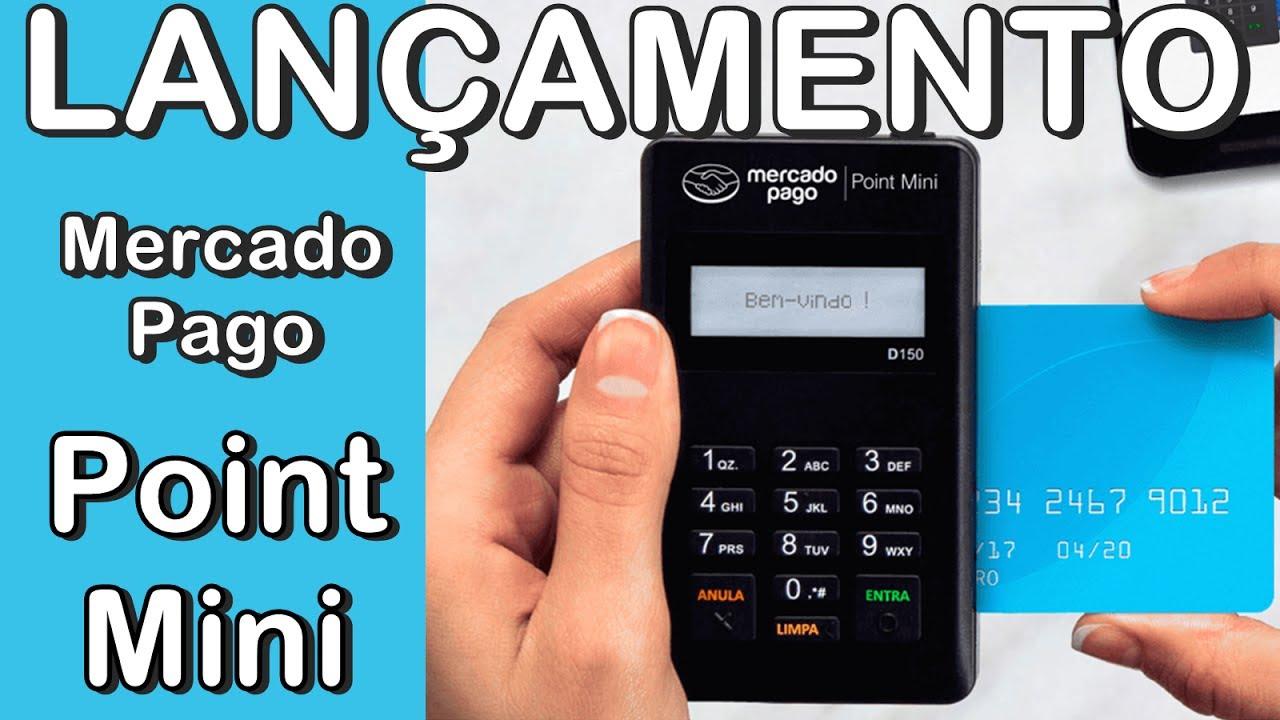 Point Mini do Mercado Pago: de R$118,80 por R$68,80 Saiba