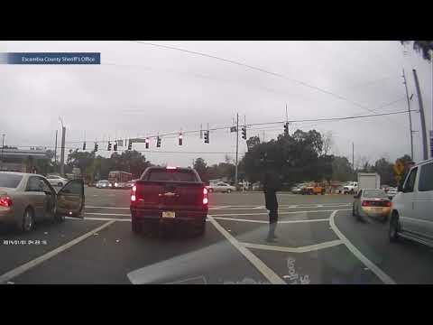 Dramatic Shootout At Stoplight Caught On Dash Cam