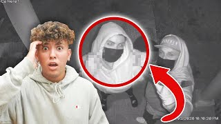SOMEONE BROKE INTO MY HOUSE! *CAUGHT ON CAMERA*