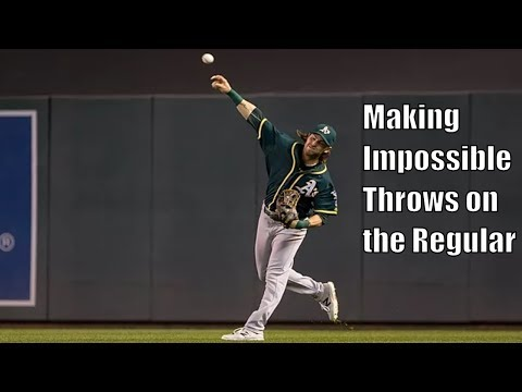 Josh Reddick Showing Off His Arm