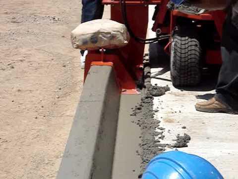 Curbappeal en mexico cordon cuneta maquina bordeadora for Bordillos de plastico para jardin