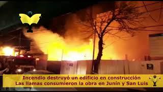 Incendio en el barrio Camba Cua