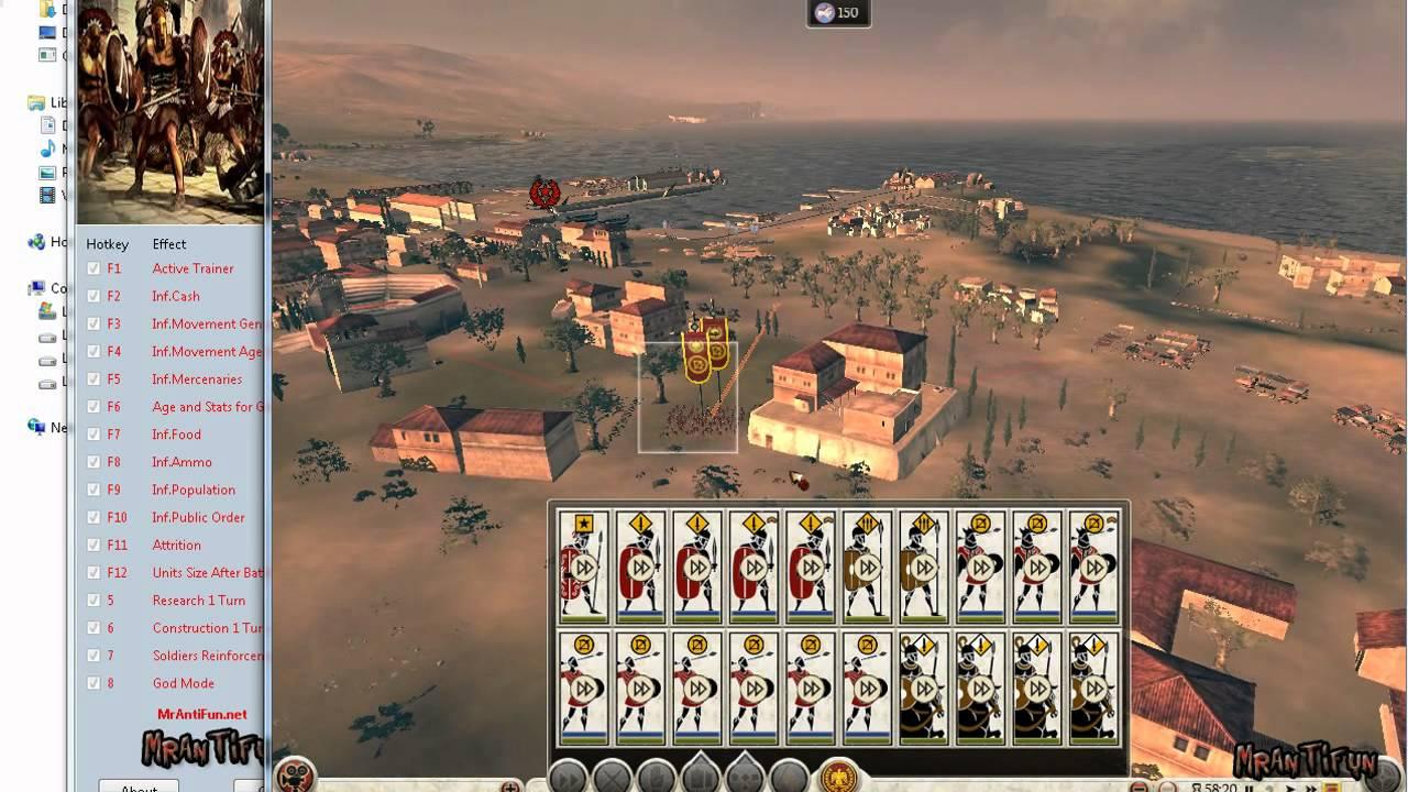 Total War: ROME II - новая карта компании