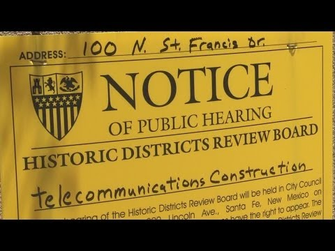 Santa Fe residents outraged over proposed cell phone tower