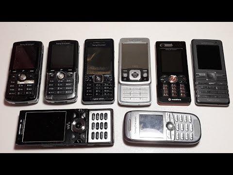 Посылка от подписчика Рихадса Редкие ,Крутые, Ретро, Телефоны на шару Даром Sony W995 часть 4