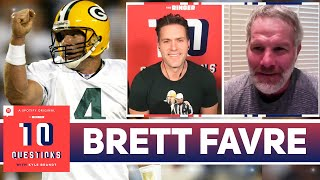 Brett Favre Discusses Aaron Rodgers And Breaking NFL Records | 10 Questions | The Ringer