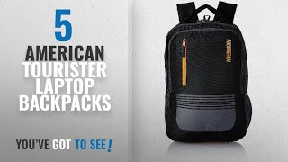 Top 10 American Tourister Laptop Backpacks [2018]: American Tourister 32 Ltrs Black Laptop