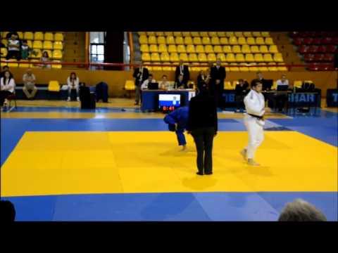 Stojanoski V (MKD) Balkan Judo Championships 2013 -66kg