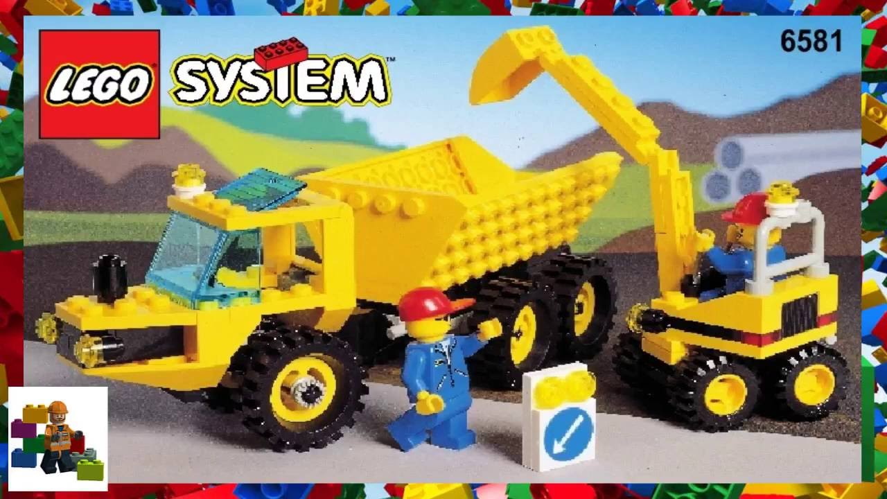 lego mini digger instructions