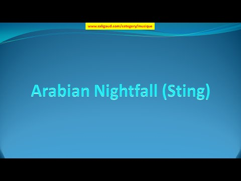 Arabian Nightfall (Sting) - Doug Maxwell/Media Right Productions (musique libre de droit)