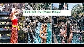 Bathing In holy water temples, Tirta Empul Temple in Bali , Best of Bali's Temples
