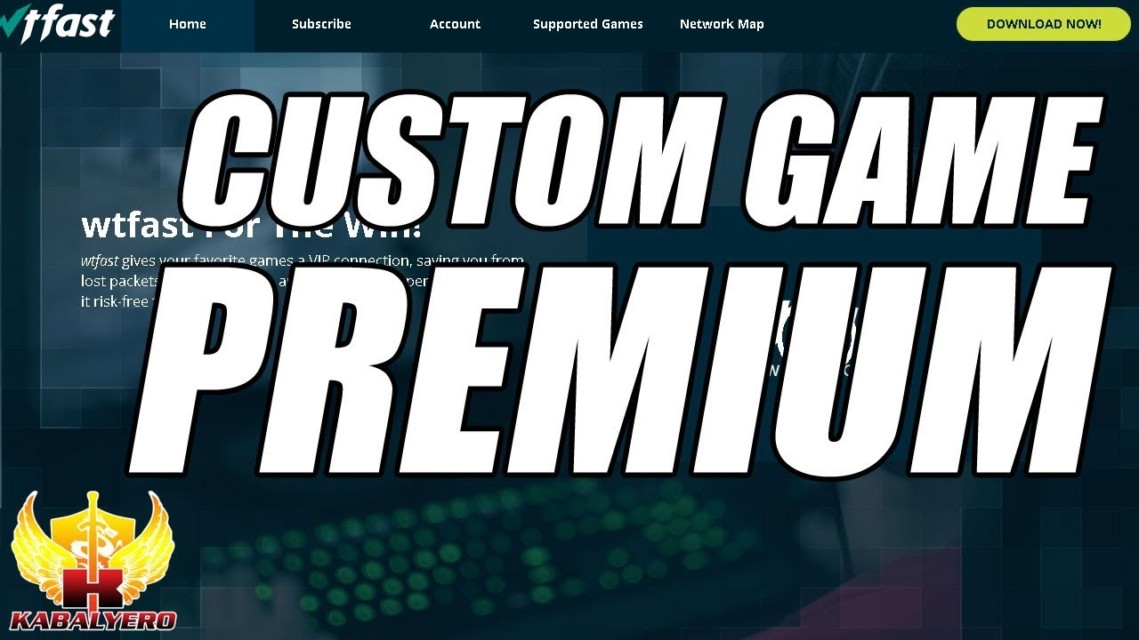 wtfast Custom Game Feature, Now A Premium Or Subscriber Only Feature • The  Kabalyero Show