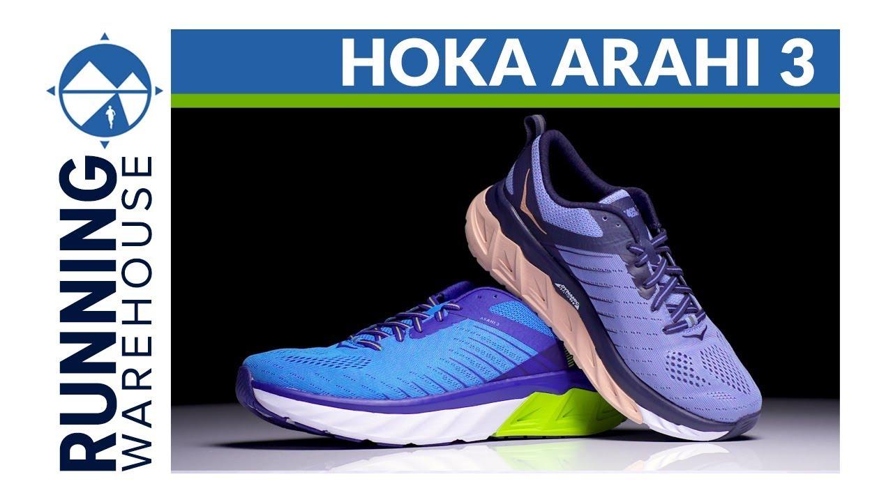 men's hoka one one arahi 3 review